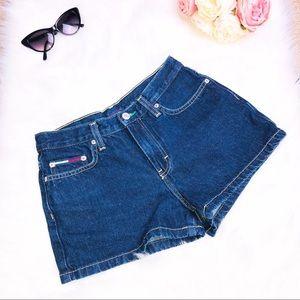 Retro Vintage Tommy Jeans Hipster Denim Shorts